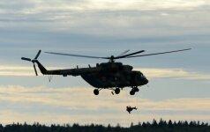 В Красноярском крае разбился вертолет, два человека погибли