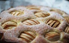 Nemeluojam: tai obuolių pyragas, kuriam neatsispirsite