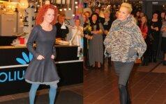 Žinomos Lietuvos moterys vienam vakarui tapo modeliais. Foto