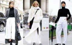 10 stilingų būdų žiemą vilkėti baltus drabužius (FOTO)
