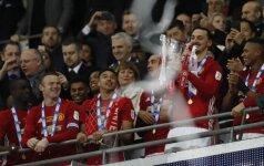 """Anglijos lygos taurės finalas, """"Manchester United"""" - """"Southampton"""""""