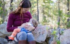 Nuo ko priklauso motinos pieno riebumas ir ar galima reguliuoti pieno sudėtį