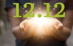 ŠIANDIEN - paskutinė šiais metais magiškoji data 12.12