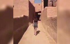 Девушку, гулявшую в мини-юбке в Саудовской Аравии, отпустили