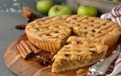 Gardus obuolių pyragas be glitimo