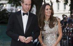 Po gimdymo viešai pasirodžiusi princo Williamo žmona sužavėjo aplinkinius FOTO