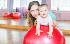 3 klausimai kineziterapeutei: ar jau vėluoja raida ir reikia pagalbos?