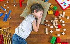 SOS! Vaikas nenori miegoti pietų miego