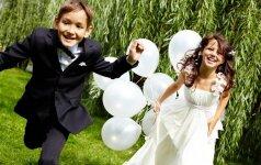 Vaikai vestuvėse: ką jiems ten veikti?