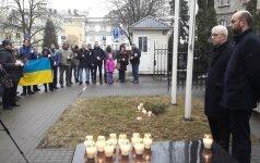 В Вильнюсе вспоминали погибших героев Небесной сотни