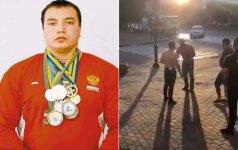 Andrejus Dračevas žuvo per gatvės muštynes
