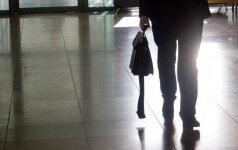Клайпедская полиция выясняет, куда пропал портфель с деньгами