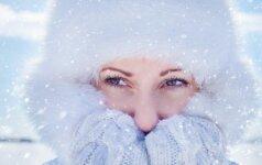 SOS priežiūra: kuo tepti šalčio kandžiojamą veidą