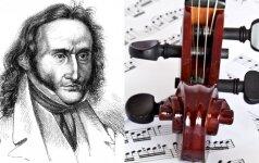 Paganinio paslaptys: pasaulinė šlovė už velniui parduotą sielą