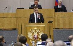 Кремль объяснил падение рейтинга Медведева