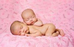 Likimo pokštas: dvyniai gimė skirtingais metais