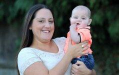 Tikra istorija: vieneri metai, du gimdymai ir keturi vaikai FOTO