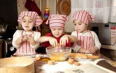 Šokoladinių pyragaičių receptas, kurį lengvai pagamins ir vaikai