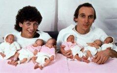 Prieš 34 metus, tą pačią dieną gimė šios šešios sesutės. Pažiūrėk, kaip jos atrodo dabar
