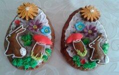 Mamos receptas: velykiniai kiaušinių formos meduoliai