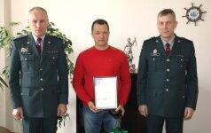 Didvyriškas ugniagesio-gelbėtojo poelgis sulaukė įverttinimo