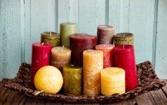 Mokslininkai įspėja: kvapnias žvakes deginkite atsargiai