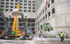 В Каунасе готовятся к сносу огромного здания