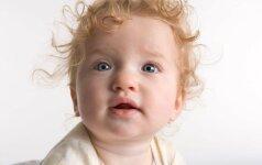 Kaip kūdikio žvilgsnis išduoda vėlesnes elgesio problemas