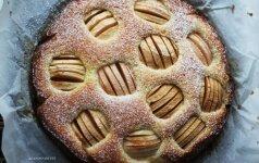 Vienas paprasčiausių ir skaniausių visų laikų obuolių pyragų