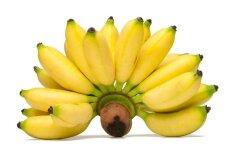Banano savybės, apie kurias žinome ne visi +3 receptai