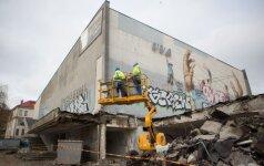 В Вильнюсе сносят кинотеатр Летува