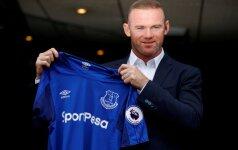 """Wayne Rooney sugrįžo į """"Everton"""""""