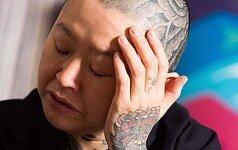 Tatuiruočių meistrė: viena tatuiruotė asmeniui kuriama mažiausiai dvejus metus