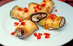 Baklažanai + varškė = gardus ir sveikas patiekalas