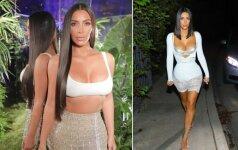 Tobulo kūno programa – griežtas Kim Kardashian sporto ir dietos planas
