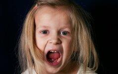 Vaikas neklauso ir ožiuojasi? Išbandykite šią veiksmų taktiką