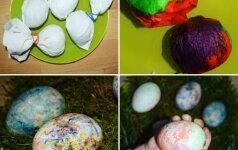 Teo ir Ieva pristato: dar nematyti kiaušinių marginimo būdai ir kitos Velykų staigmenos
