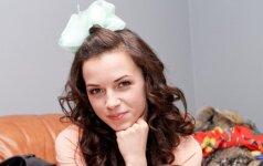Nėštumo metu priaugto svorio Irūna Puzaraitė atsikratė per savaitę