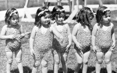 Garsusis seserų penketukas: mažai kas žino, kokį košmarą joms buvo lemta išgyventi