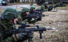 В Литве - самые масштабные военные маневры Удар молнии