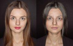 Kaip garsios Lietuvos moterys atrodys senatvėje