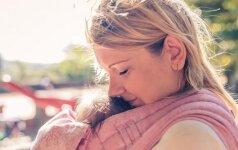 Vienintelis dalykas, kurio norėčiau palinkėti naujoms mamoms