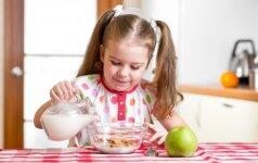 Ką paruošti pusryčiams, kad būtų sveika, greita ir patiktų vaikams