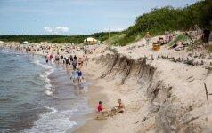 В планах - спасение палангского пляжа