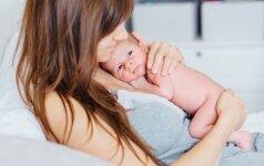 100 procentų pozityvo: ką moterims duoda motinystė