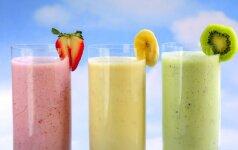 7 vasariški kokteiliai, kurie ne tik atgaivina, bet ir yra tikros vitaminų bombos
