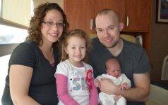 Akivaizdu, bet neįtikėtina: ši mama vaikus gimdo tik vasario 29 dieną