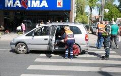 В Вильнюсе на пешеходном переходе сбита женщина с коляской