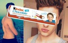 Kaip dabar atrodo Kinder šokolado berniukas