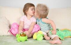 Vaikų seksualumas: kaip tėvams protingai reaguoti